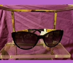 Authentic Chanel Gold Bijou Sunglasses NWT